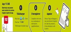 02/12 - Contactez les centres d'appel de secours via une app