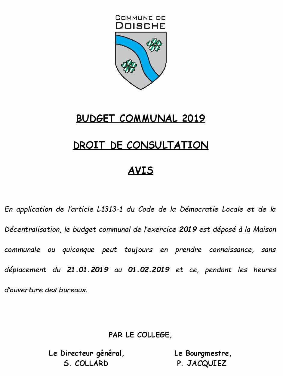 avisconsultationbudget2019