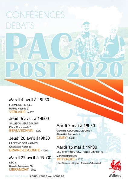 PAC Tour calendrier Final