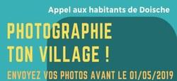 06/03 - Photographie ton village : Appel aux habitants de notre Commune