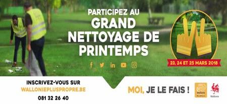 """08/05 - Opération """"Grand Nettoyage de Printemps 2018""""...Un succès !!"""