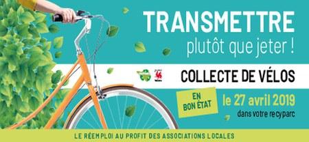 09/04 - Collecte de vélos dans les recyparcs
