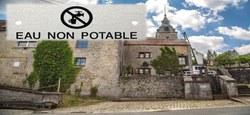 10/10 - Fontaine St Laurent : Eau non potable et restrictions d'approvisionnement pour une consommation non humaine...
