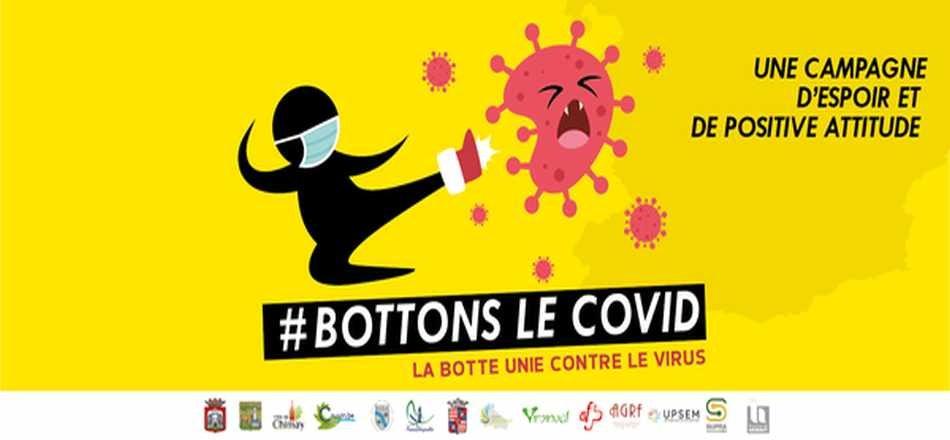 17/12 - Bottons le virus - La Botte unie contre le virus
