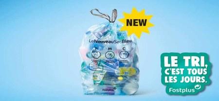 19/10 - Un nouveau sac bleu pour recycler encore plus de plastique...!