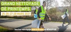 22/01 - 7ème édition du Grand Nettoyage de Printemps : Bloquez les dates !