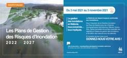 24/04 - Enquête Publique : les projets des Plans de Gestion des Risques d'Inondation 2022-2027