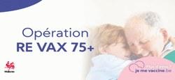 28/04 - Re Vax 75+ : 2e chance pour les citoyens de 75 ans et plus