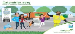 29/10 - Calendrier des collectes 2019 : Quelques précisions