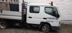 30/03 - Notre Commune met en vente une camionnette Mitsubishi Canter déclassée...