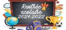 31/08 - Bonne rentrée scolaire 2021-2022