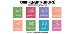 31/10 - Communiqué d'Alexander De Croo, Premier Ministre : Comité de concertation sur le durcissement du confinement