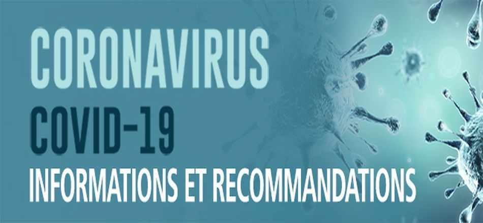 Coronavirus/Informations : Accessibilité des services communaux à la Maison communale jusqu'à nouvel ordre