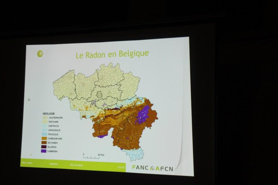 Action Radon : Séance d'information et de sensibilisation du 05 décembre 2016