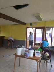 Eté solidaire 2020 - Rénovation des installations de l'E.S. Gimnée-Mazée