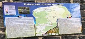 """Inauguration de la promenade """" Chemin des bornes frontières"""""""