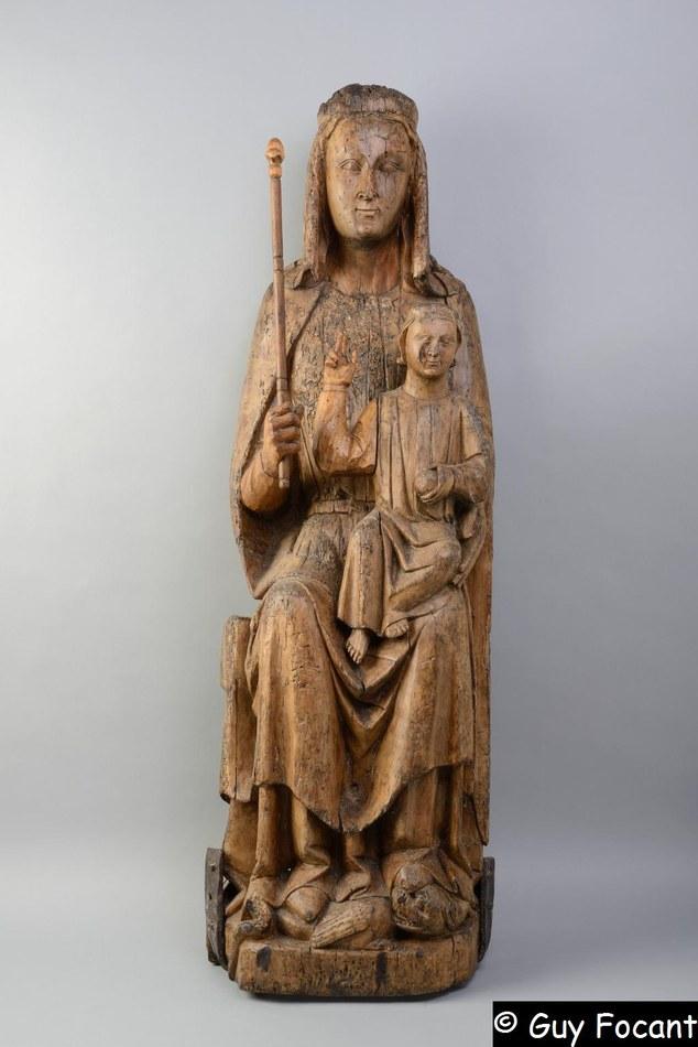 Trésor de St Hilaire 1   La Vierge à l'Enfant