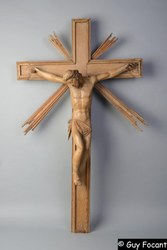 Trésor de St Hilaire  5   Christ en Croix