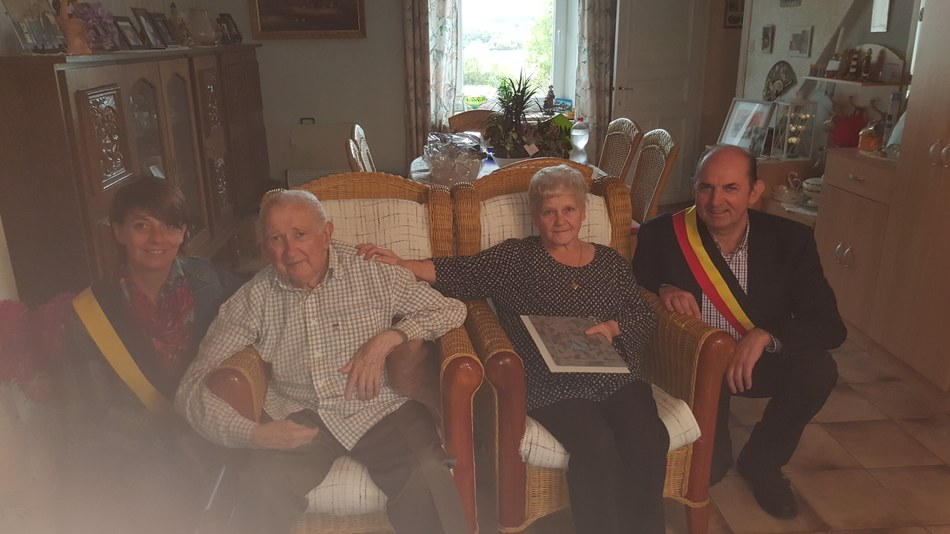 Noces de Diamant 2016 - Mr et Mme Marcel Gillain-Lannoy