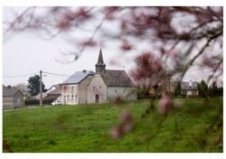 Gimnée, « Chapelle de l'ermitage dédiée à la Vierge Marie », Michel Hubert
