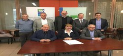 Pollec 3 : Signature de la Convention des Maires
