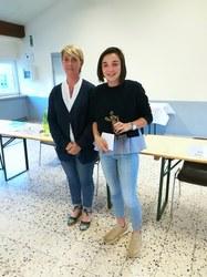 Marie Roulin, Mérite sportif 2017 (tennis)