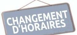 """23/08 - Avertissement """"Fortes chaleurs & pic d'ozone"""" : Changement d'horaire d'ouverture des bureaux"""