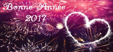 31/12 - Bonne et heureuse année 2017 !