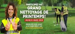 24/01 - 5ème Grand Nettoyage de Printemps : Bloquez les dates !