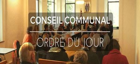 27/05 - L'ordre du jour du prochain conseil communal est disponible...