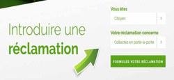 01/03 - Réclamation au sujet des collectes en porte-à-porte/recyparcs : formulaire de déclaration