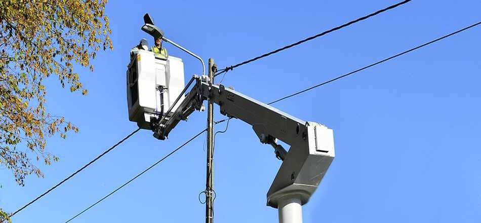 20/10 - Votre Commune continue la modernisation en LED de son parc d'éclairage public avec ORES !