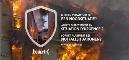 11/08 - BE-Alert : Alerté directement en situation d'urgence...la Commune s'est affiliée...