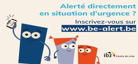 24/03 - Système Be-Alert : la Commune est officiellement adhérente...