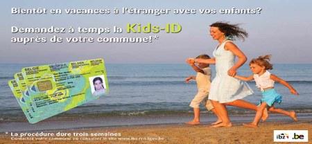 04/05 - Vous partez à l'étranger avec votre enfant ? N'oubliez pas de demander la Kids'ID ou de vérifier sa validité !