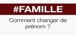 26/11 - Changement de prénom : Nouvelle procédure et nouveau tarif