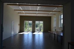 Salle Romerée - Intérieur côté terrasse