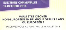 29/06 - Elections locales 2018 : Ma commune, j'y vis, j'y vote !
