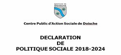 13/06 - Déclaration de politique sociale 2018-2024